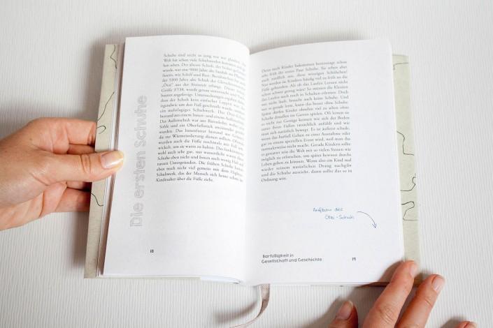 "Buchdruck ""Barfuss"""