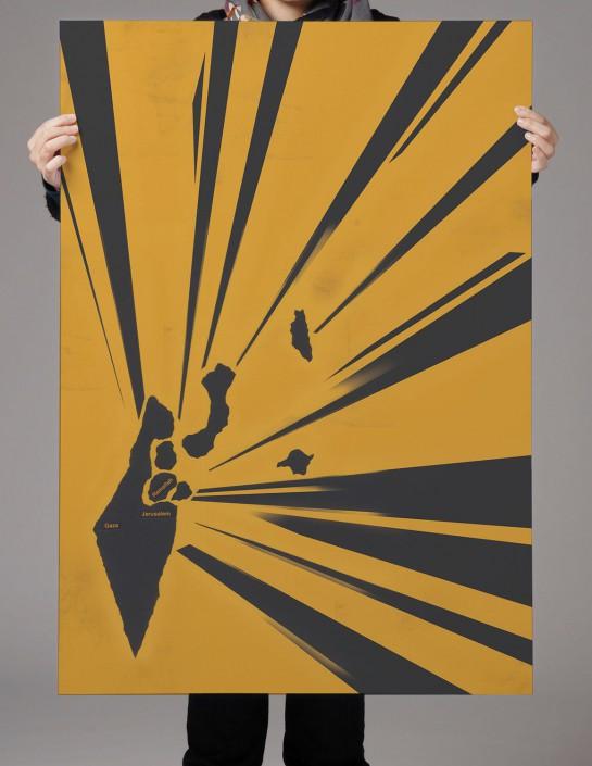 Plakate Israelkonflikt